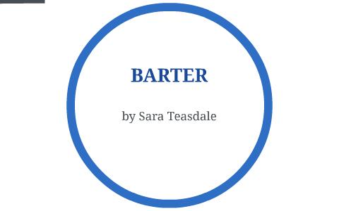 barter teasdale