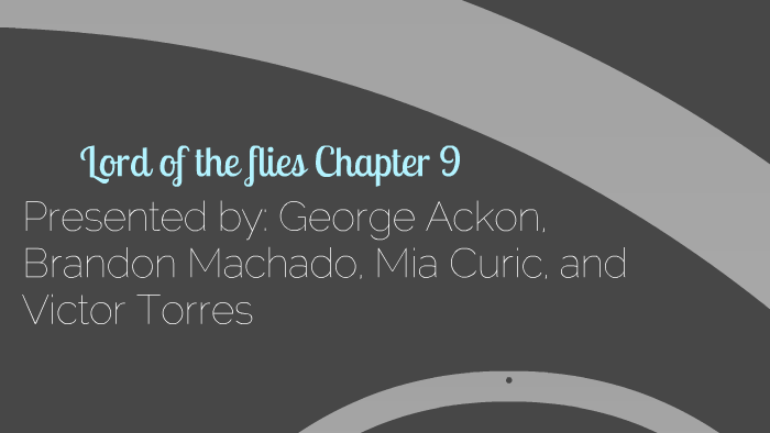 how many chapters is lord of the flies
