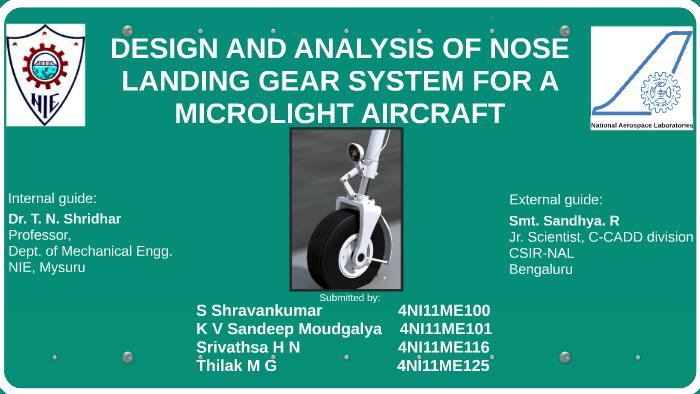 nose landing gear design