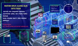 Motor Arus Ulang Alik Satu Fasa By Aswani Adham