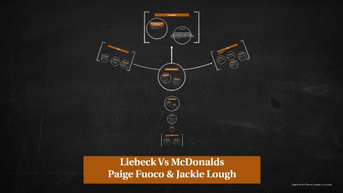 liebeck vs mcdonalds