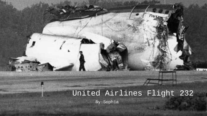 United Airlines Flight 232 By Sophia Bololoi