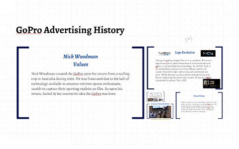 gopro advertising history by jasmine stradling on prezi