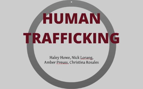 attention getter for human trafficking speech