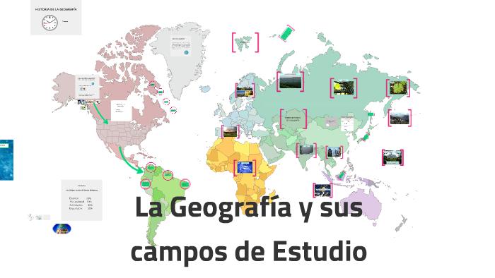 La Geografía Y Sus Campos De Estudio By Edgar Gabriel Pineda