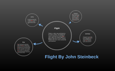 flight by john steinbeck summary