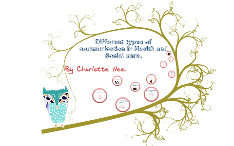 types of communication in health and social care