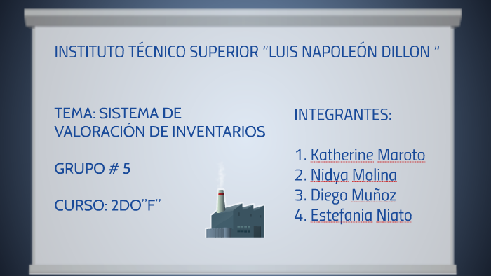 Sistemas de valoración de inventarios by Diego Muñoz on Prezi