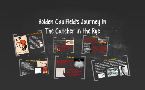 holdens journey catcher in the rye