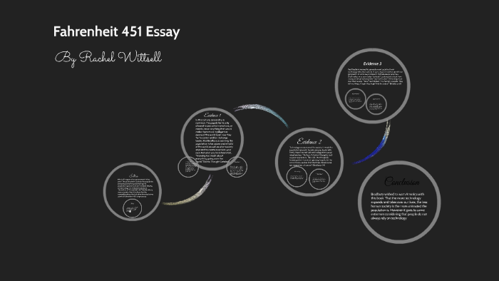Fahrenheit  Essay By Rachel Wittsell On Prezi