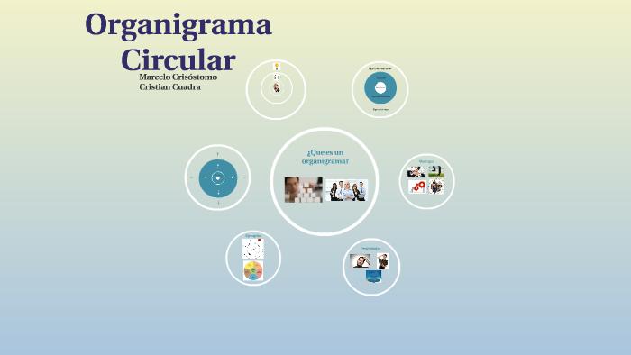 Organigrama Circular By Marcelo Eduardo Crisostomo Carrasco