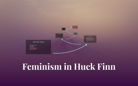 feminism in huckleberry finn