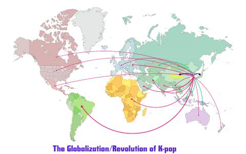 The Globalization Of K Pop By Michelle On Prezi