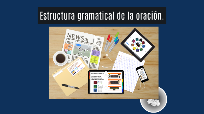 Estructura Gramatical De La Oracion By Irene Linares On Prezi