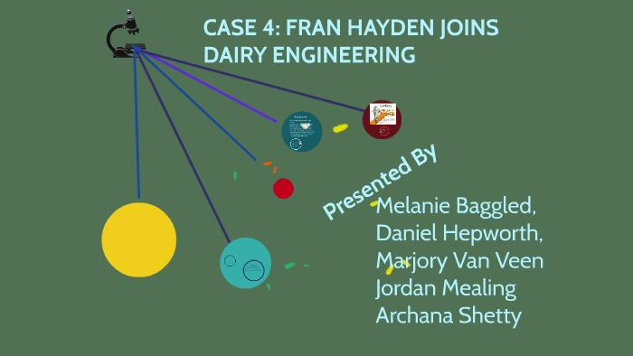 fran hayden joins dairy engineering