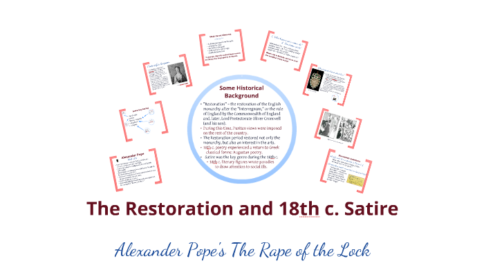 Alexander Pope S The Rape Of The Lock By Jessica A On Prezi