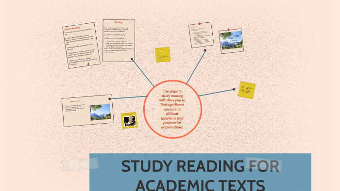STUDY READING FOR ACADEMIC TEXTS By Trisha Lois On Prezi