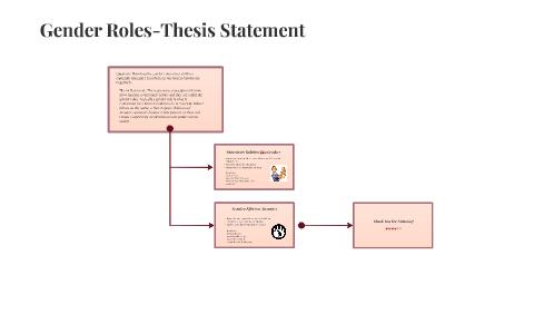 Thesis gender short prose essays