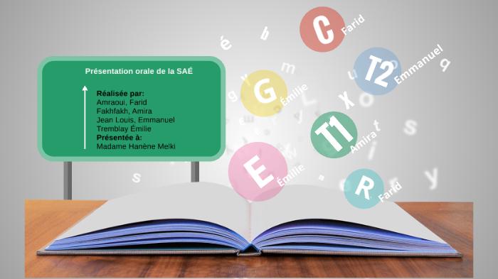 2b5027846fe0e SAÉ intégrant l enseignement orthographique by Amira Fakhfakh on Prezi Next