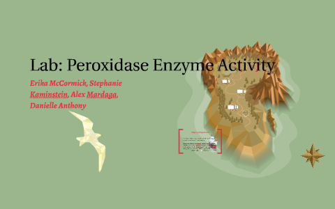 peroxidase enzyme lab