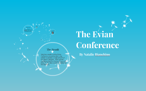 the evian conference