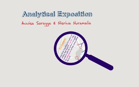 Analytical Exposition By Annisa Sorayya On Prezi
