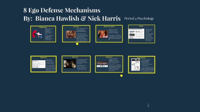 8 Ego Defense Mechanisms Jserra By Bianca Hawlish On Prezi Next