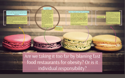 are fast food restaurants to blame for obesity