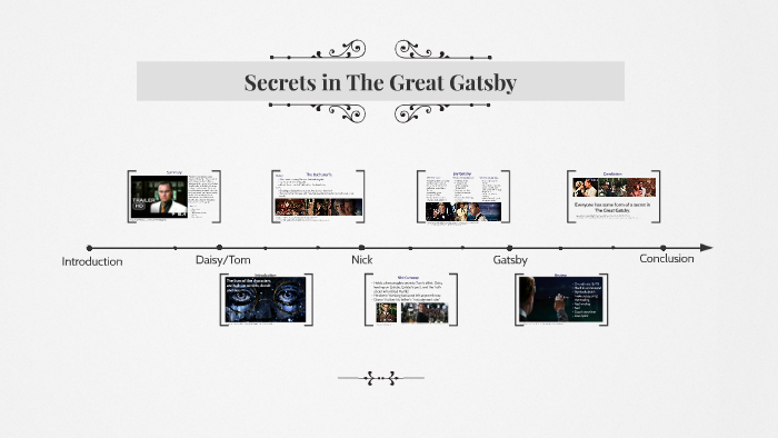 Secrets In The Great Gatsby By Heather Pirri On Prezi