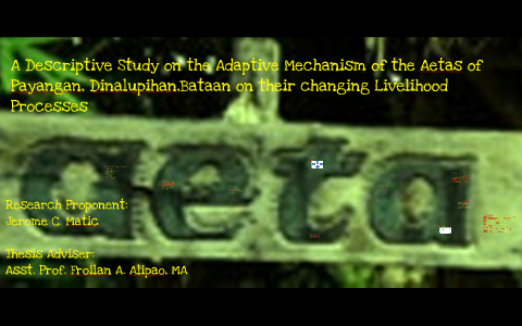 research paper about aetas
