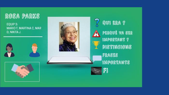 Rosa Parks E3 By Mar Domingo On Prezi Next