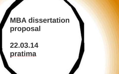 Why write a dissertation