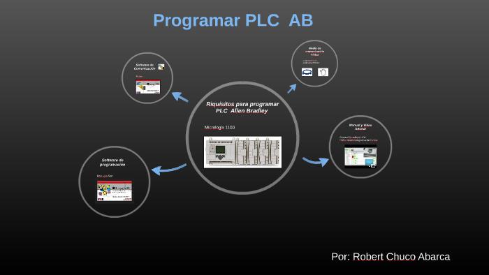 Riquisitos Programar PLC Micrologix 1100 Allen Bradley by