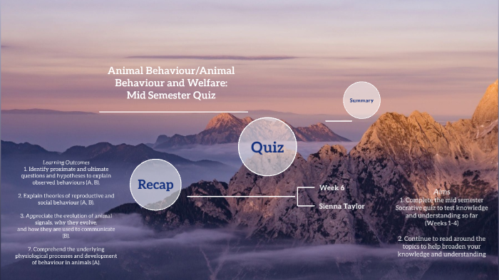S1W6(b) Mid Semester Quiz by Sienna Taylor on Prezi Next
