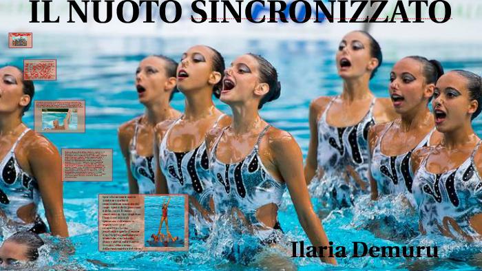Il Nuoto Sincronizzato By Ilaria Demuru On Prezi