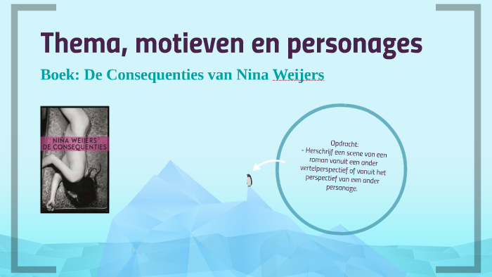 Thema Motieven En Personages By Katinka Out On Prezi