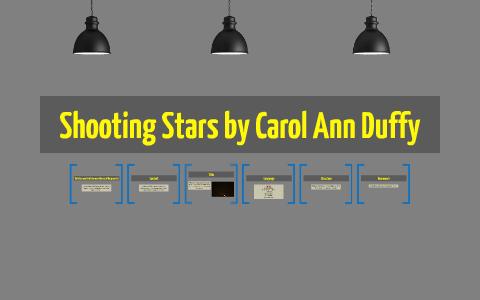 shooting stars carol ann duffy