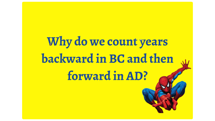 why do we use ad and bc
