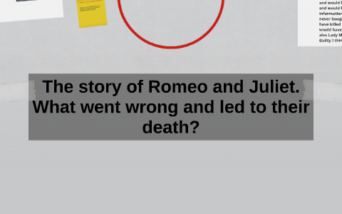 The Story Of Romeo And Juliet What Went Wrong And Led To Th By