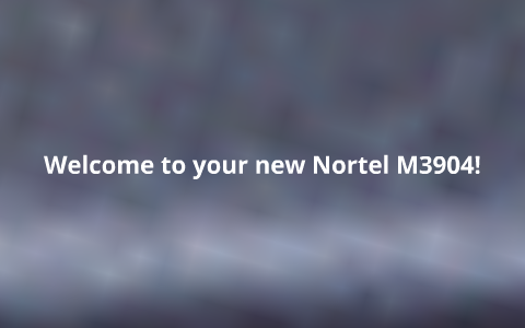 Nortel M3904 Phone Training by stephanie rush on Prezi