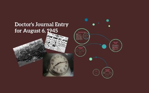 a doctors journal entry poem pdf