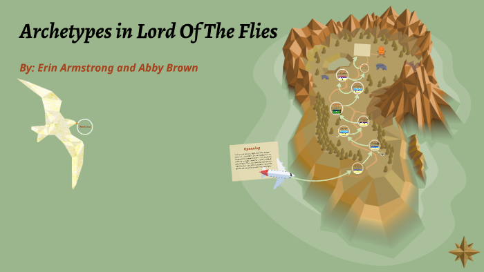 archetypes in lord of the flies chapter 1