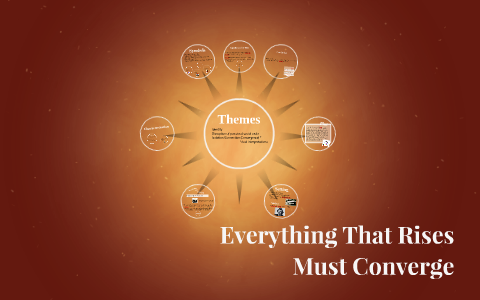 themes in everything that rises must converge