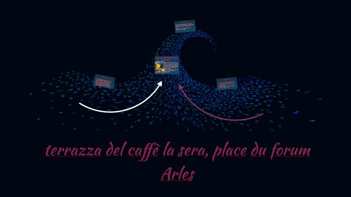 Terrazza Del Caffè La Sera Place Du Forum Arles By Cecilia
