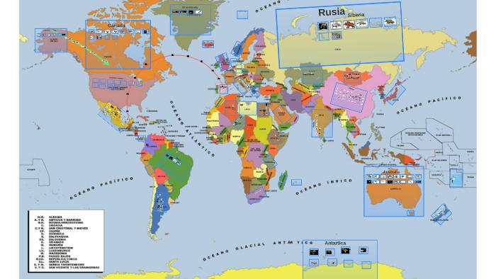 Mapa Mundial Prehistorico By Jose Pablo Lizana Perez On Prezi