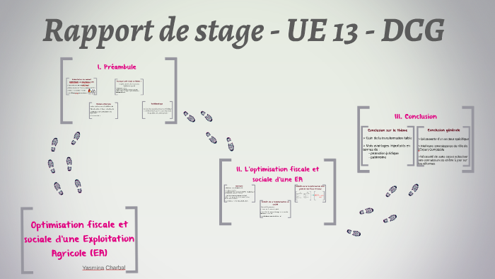 Rapport De Stage Dcg By Yas Mina On Prezi