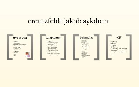 Creutzfeldt Jakobs Sykdom