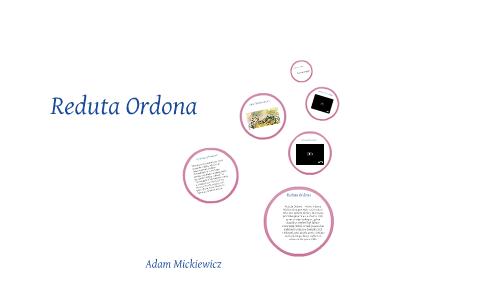 Reduta Ordona By Natalia Kryger On Prezi