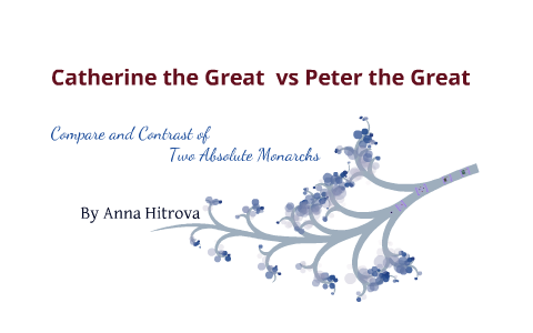 catherine the great and peter the great by anna hitrova on prezi The Euler Diagram