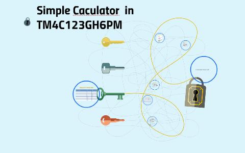 Simple Caculator in TM4C123GH6PM by Minxin Guan on Prezi